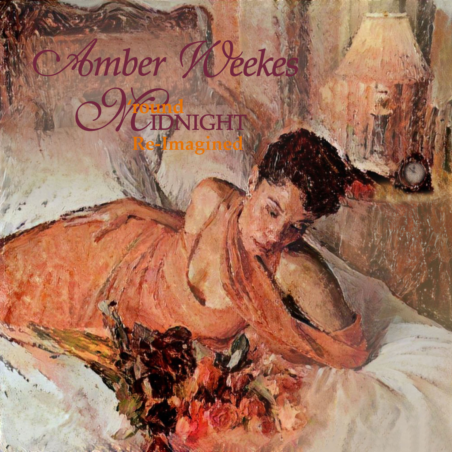 Amber Weekes Round Midnight Re-Imagined album cover